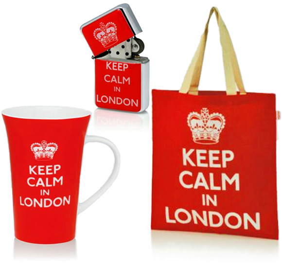 Keep Calm in London Souvenirs