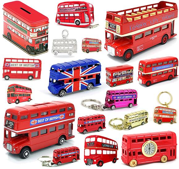London Double Decker Bus Souvenirs