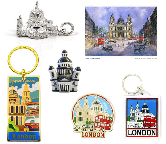 London St Paul's Cathedral Gifts & Souvenirs