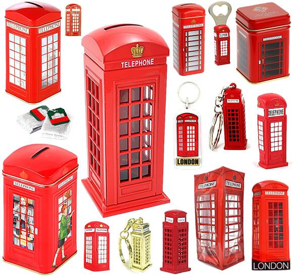 London Telephone Box Souvenirs
