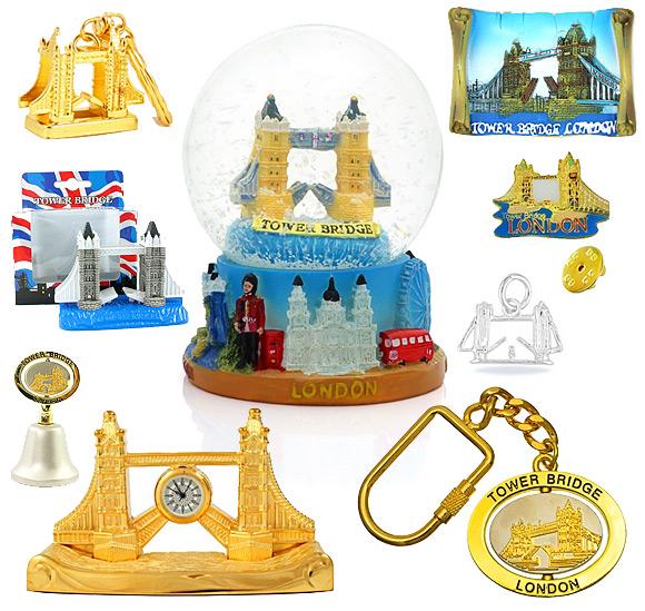 London Tower Bridge Souvenirs
