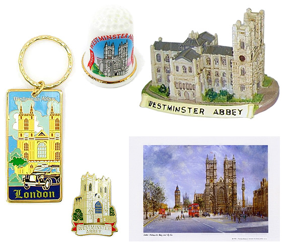 London Westminster Abbey Souvenirs & Gifts
