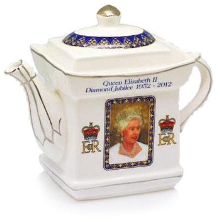 Queen's Diamond Jubilee Tea Pot