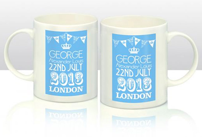 Royal Baby Mugs